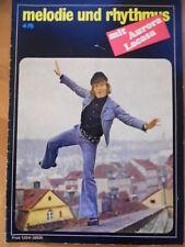 + MELODIE UND RHYTHMUS 4- 1975 Aurora Lacasa Vaclav Neckar Nina Hagen &Automobil