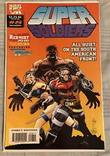 Vintage 1993 MARVEL Comics UK - SUPER SOLDIERS #8 (High Grade VF+) Mike Ratera