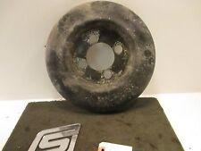 "1977 Porsche 924 Base 2.0L factory 14"" alloy wheel brake dust cover FLAW"