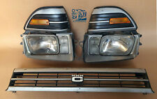 Toyota Corolla AE90 AE92 Wagon Face Head Lights With Grill & Parkings Complete