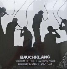 "Bauchklang - Barking News / Rhythm Of Time - Maxi 12"" Vinyl, Remixes, 2006, NEW"