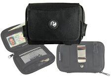 Wallet Cell Phone Case Belt Clip Pouch Holder eHolster EDC Universal Black
