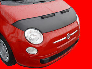 CAR HOOD BRA fit Fiat 500 since 2007 FRONT END NOSE MASK TUNING