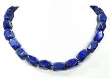 Lapis lazuli-cadena en facetada prismenform
