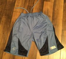 Men's Nba basketball shorts .size medium .light blue and navy