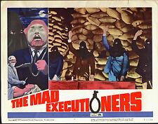 THE MAD EXECUTIONERS orig 1965 KRIMI lobby card EDGAR WALLACE 11x14 movie poster
