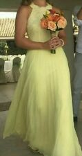 BNWT🌹Coast🌹Size 6 Sadie Yellow Lemon Maxi Bridesmaid Prom Beach Wedding Dress