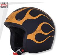 Casco Helmets Jet Moto Custom Harley Suzuki Kawasaki Honda Yamaha Guzzi Trium...
