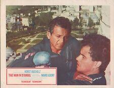 That Man in Istanbul 1966 11x14 Lobby Card #nn