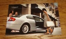Original 2003 Chrysler Sebring Coupe Deluxe Sales Brochure 03