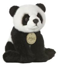 """L@@K Aurora Panda Bear 8"""" Small 10821 Stuffed Animal Soft Baby Toy Plush NEW"""