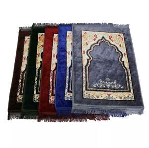 Praying Mat Turkish Pray Mat Cushioned Foamed Padded Musallah Rug Janamaz
