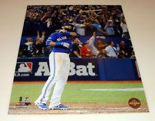 Toronto blue jays 11x14 фото бейсбол Хосе Баутиста спид летучая мышь Flip Home Run