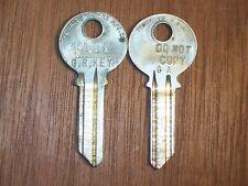 Original Yale Key Blank GA Keyway 5 Pin Marked Do Not Copy