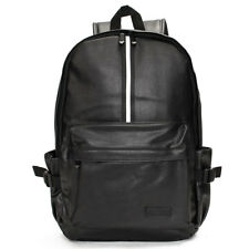 Men Leather Travel Rucksack Camping Satchel Shoulder Backpack School Laptop Bag