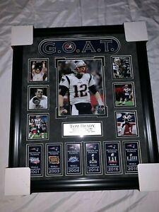 Tom Brady Custom Framed 20x24 New England Patriots Photo