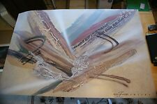 """Laurie Fields, """"SHELBY""""  Lithograph hand signed"""