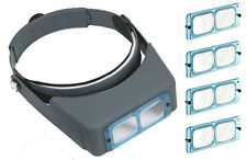 Binocular Head Loupe with 4 Glass Lenses (lo300)