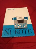 Vintage Collectible NU-KOTE Super Film Black Carbon Paper for Typewriters Used