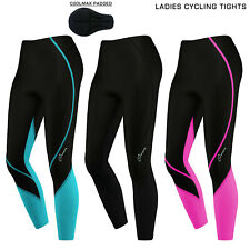 Ladies Women Cycling Trousers Cycle Winter Legging Tights Padded Thermal Trouser