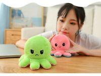 Reversible Plush Toys Double-sided Happy Sad Emotions stuffed Kids Toy Gift