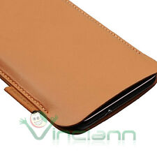 Custodia ultra-slim ORIGINALE SAMSUNG per Galaxy i9100 S2 sacchetto BROWN pelle