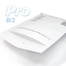 10 Enveloppes à bulles blanches gamme PRO taille B/2 format utile 110x215mm