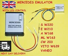 For MERCEDES - Airbag Emulator - Passanger Occupancy Seat Sensor (OCS) WITH LED!