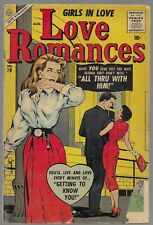 Love Romances #70 1957 Timely Silver Age Romance Comic Book G/VG