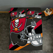 Tampa Bay Buccaneers Fitted Sheet 3PCS Bed Sheet & Pillowcase Fans Bedding set
