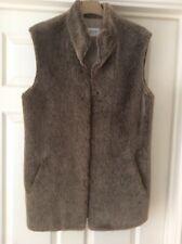 Basler Imitation Fur Gilet Size 34