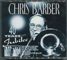 2CD Box Chris Barber: 40 Years Jubilee (1994) Live from Holland & Germany