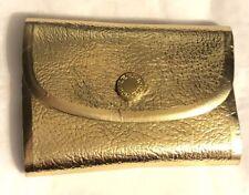 VTG Gillette Ladies Pride Personal Mini Shaving Kit Blades Gold Case 1950s Razor