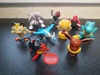 Bundle Collection of Macdonalds Pokemon Action Figures Lot 1