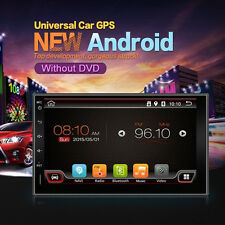 "Quad Core Android 3G WIFI 7"" Double 2 DIN Auto Car Radio Stereo MP5 Player GPS"