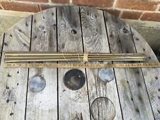 Old Brass Stair Rods