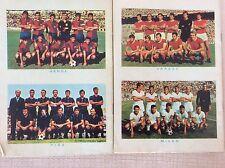 CALCIO ANNI '60 SQUADRE MILAN VARESE GENOA PISA FOTO FORMAZIONI FUMETTO FAR WEST