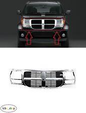 Pour Dodge Nitro 2007 - 2011 Avant Chrome Center Calandre Grille Calandre