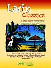Clásicos Latina; mezcladas Cancionero, partituras, español, PMV11184 - 9783954560486
