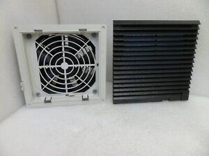 RITTAL SK3322027 FAN AND FILTER UNIT VENTILATOR BLACK 24VDC 7.7W 0.35A N.T.O.