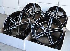 Oxigin 18 Concave schwarz poliert 4 Felgen 9 + 10,5 x 20 Zoll BMW 5er F10 / F11