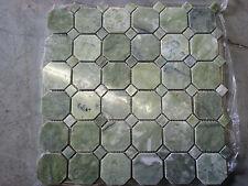 "MARBLE GREEN ONYX Polished 2""Octagon  BATHROOM KITCHEN"