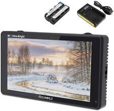 "Feelworld LUT6S 6"" 3D LUT 4K HDMI Touchscreen Camera Monitor 3G-SDI 1920*1200"