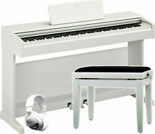 Yamaha YDP-144 WH weiß matt SET   Digital Piano   Epiano   elektrisches Klavier