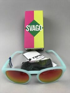 TIFOSI SVAGO 1560401578 Sunglasses, Satin Crystal Teal - NEW
