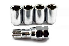 Tuner de verrouillage en acier écrous de roue chrome M12 X 1.5 Fits Honda Civic S2000 ACCORD