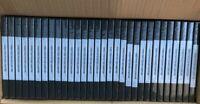30 Empty Double Disc 2 DVD Cases Black Please Read Description Wrap Around Sleev