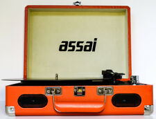 Vinyl Record Player LP Turntable Orange to MP3 CONVERTER NEW