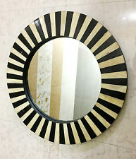 Hanging Wall Mirror Bedroom Horn/Bone Inlay Frame Accessories Decorative Decor