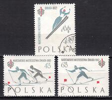 Poland - 1962 Nordic-Ski championship - Mi. 1294-96 VFU